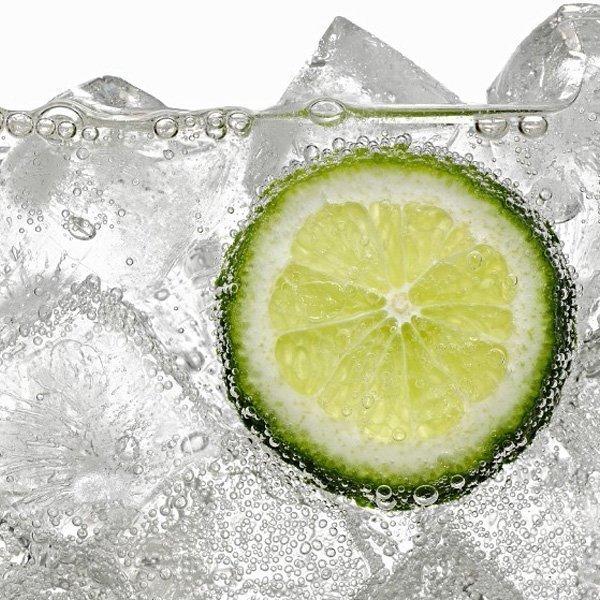 hielo cóctel limón lima