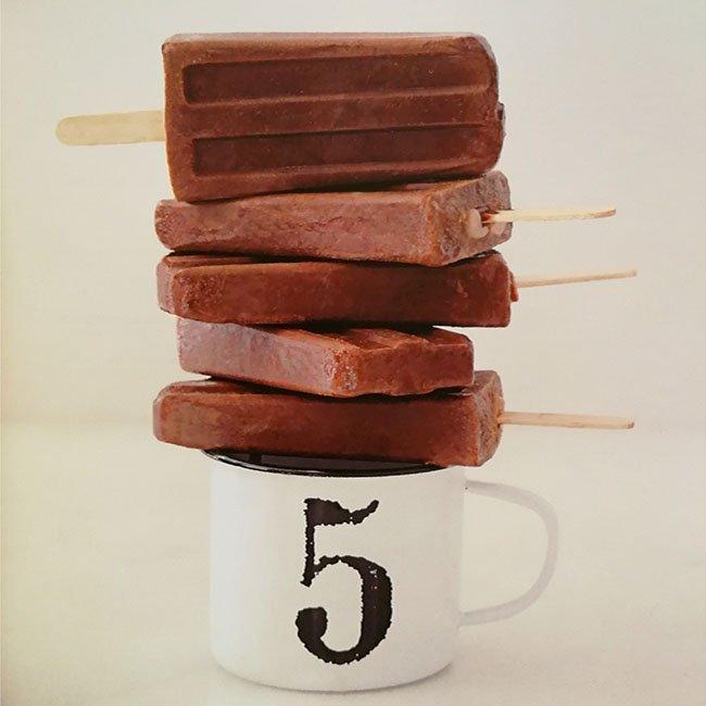 polo chocolate helado