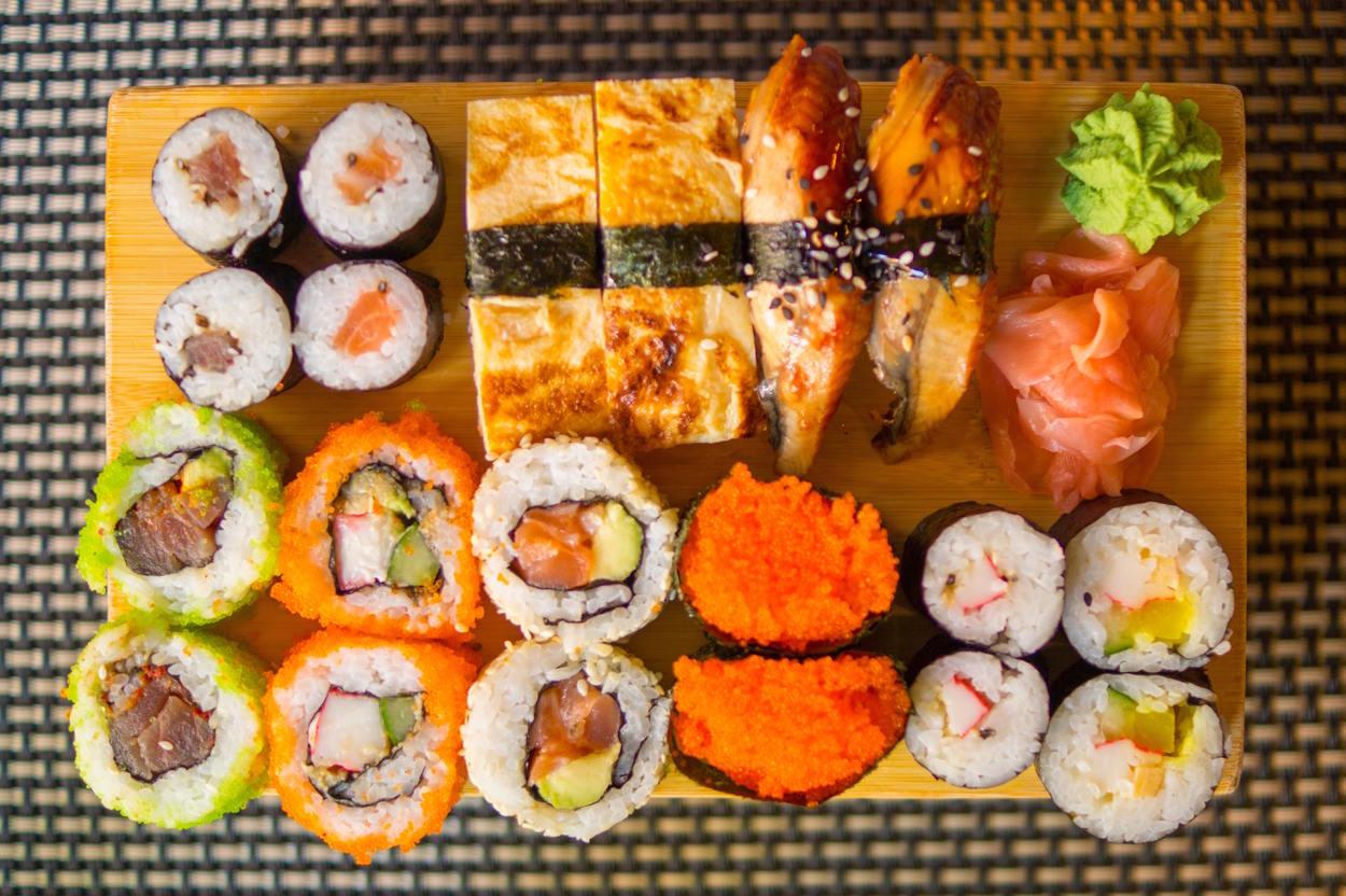 gari jengibre sushi