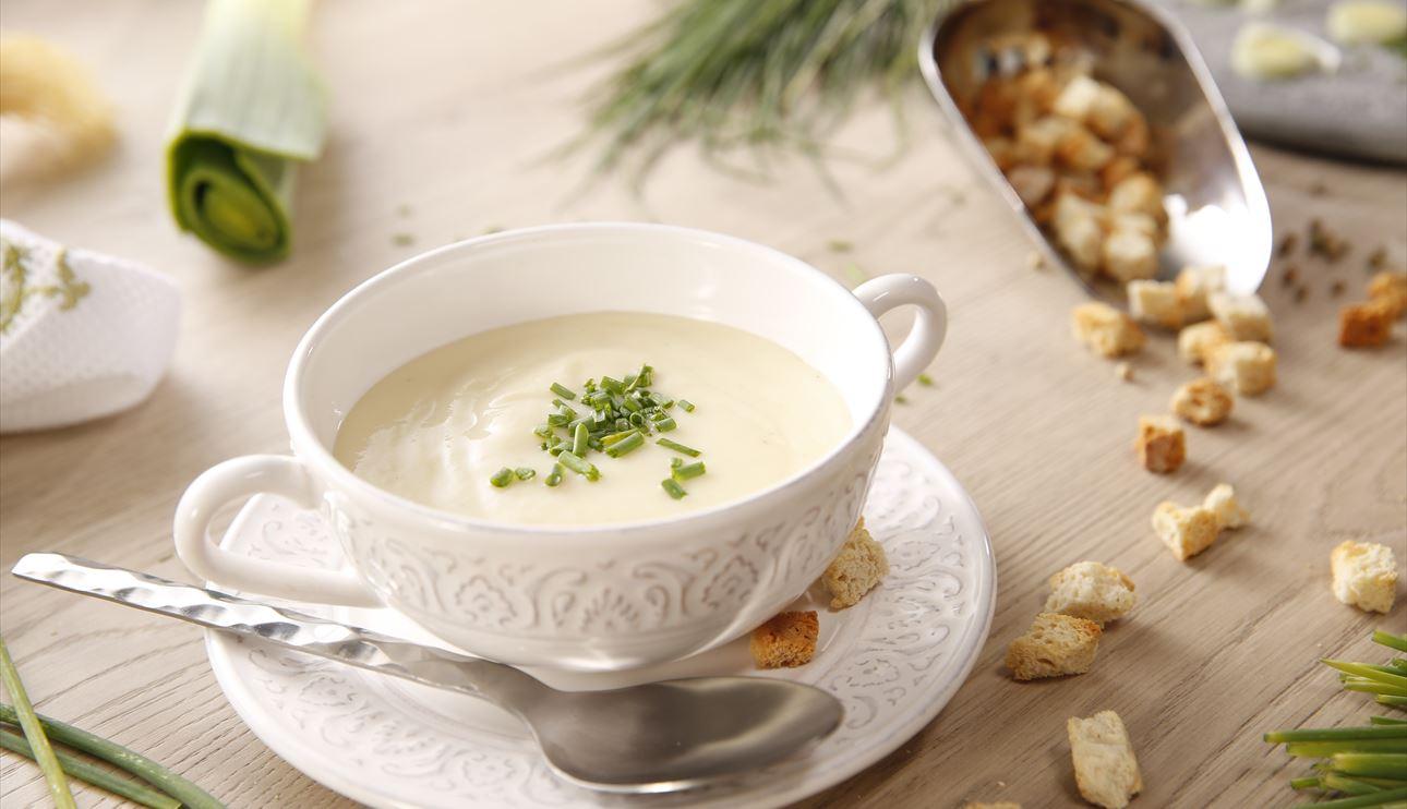 5 recetas de cremas frías