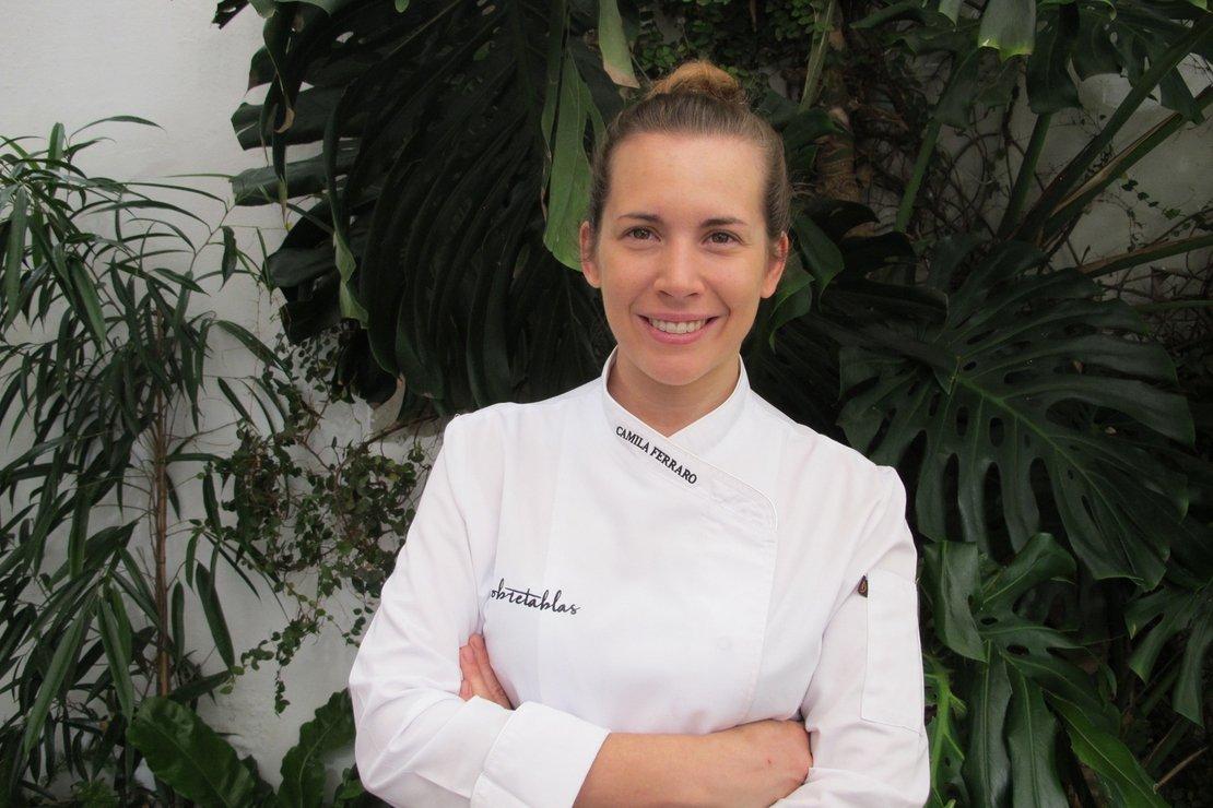 Camila Ferraro chef del restaurante 'Sobretablas' en Sevilla