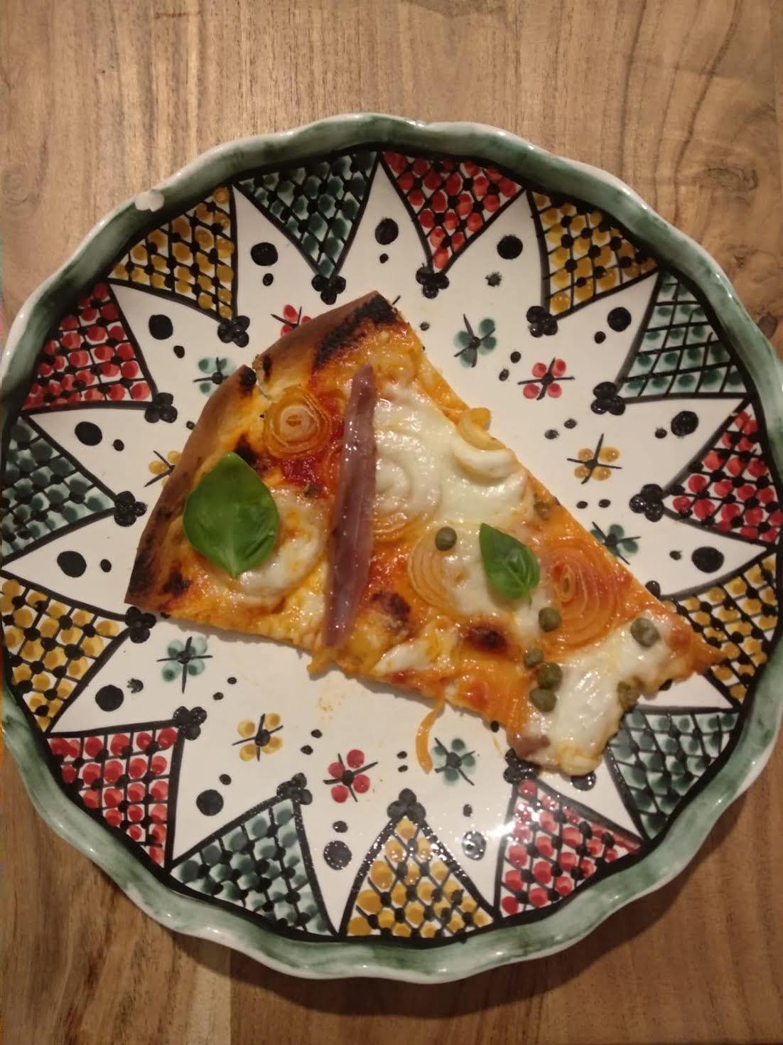 Receta: Pizza a la Morales