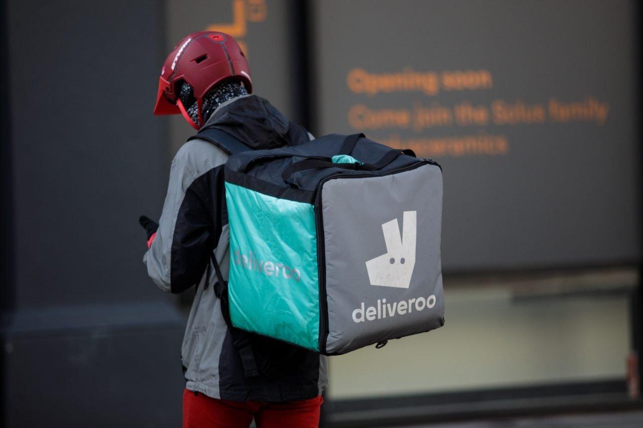 Repartidor de Deliveroo