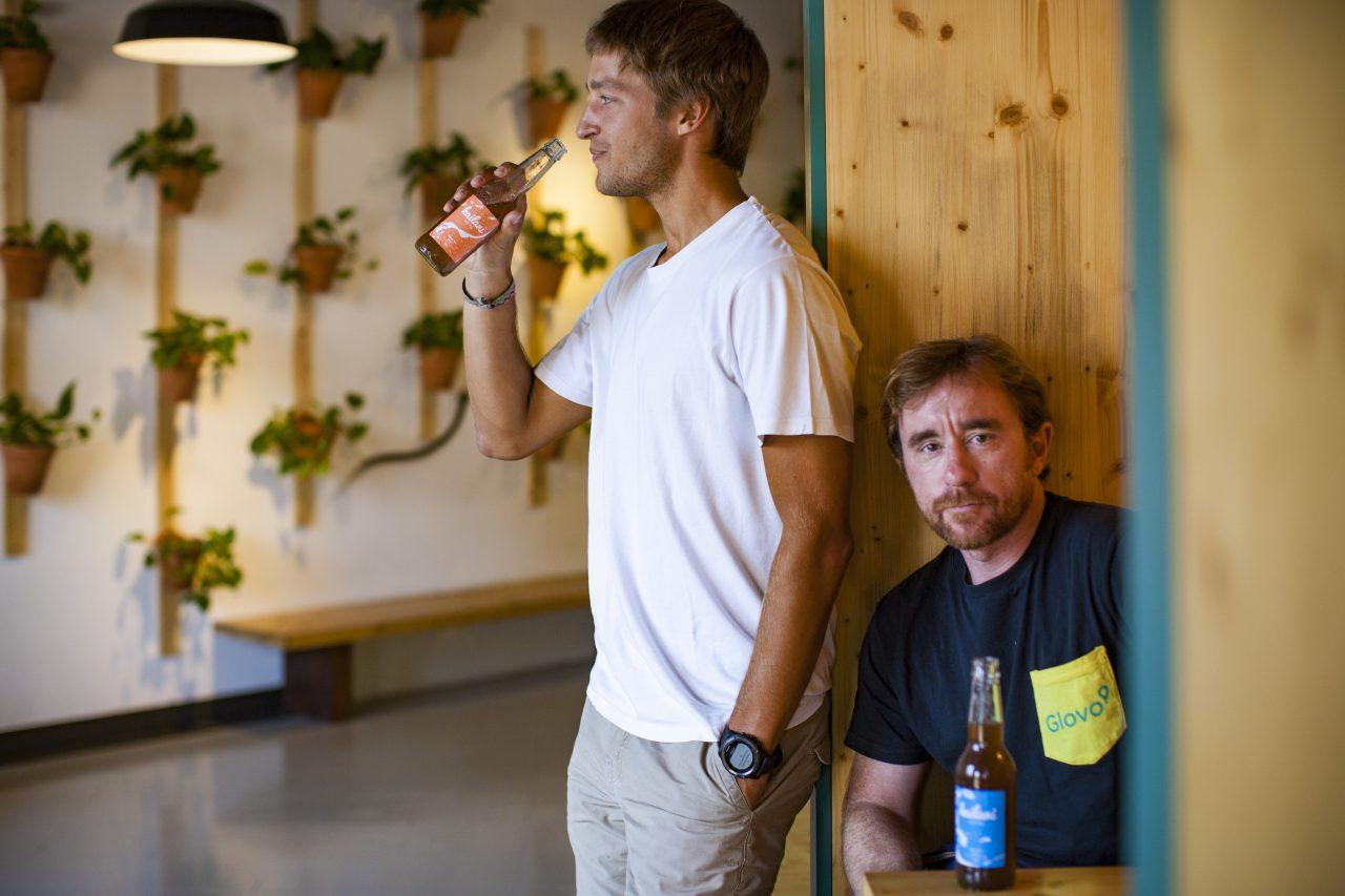 Óscar Pierre y Sacha Michaud, fundadores de Glovo Delivery.
