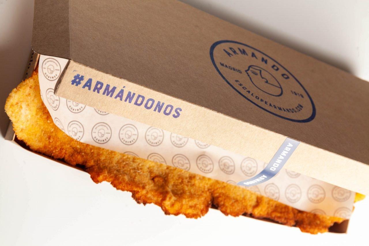 Escalope Armando delivery Nino Redruello