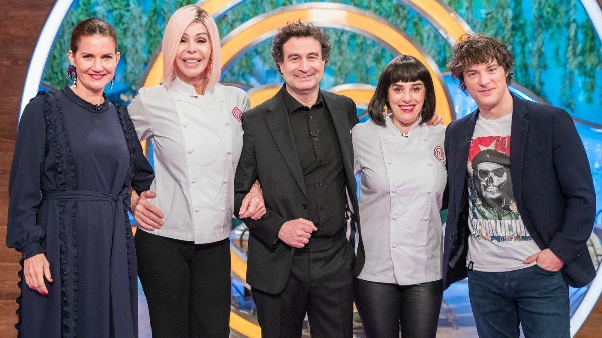Bibiana Fernández y Anabel Alonso visitan MasterChef