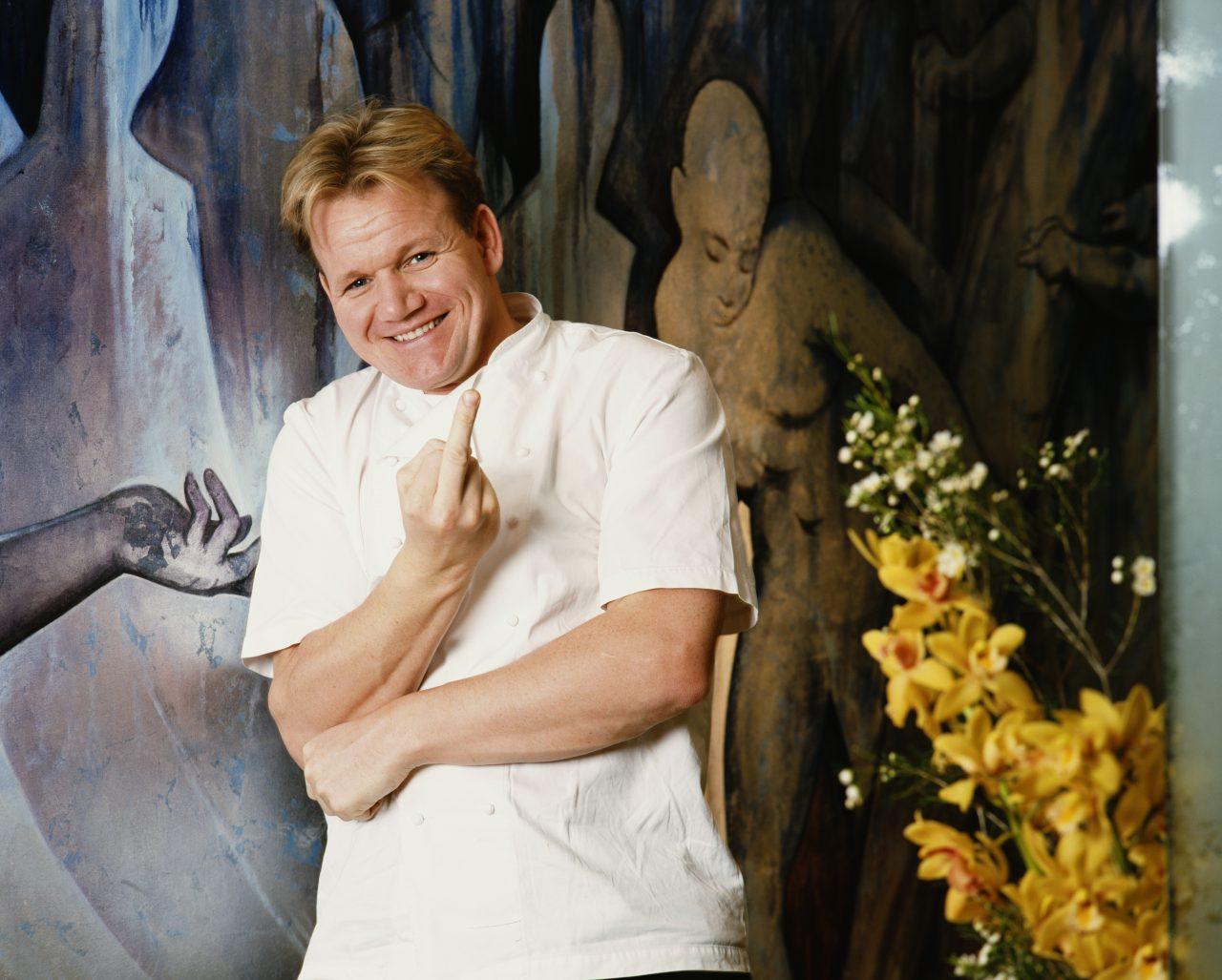 Gordon Ramsay el chef mejor pagado