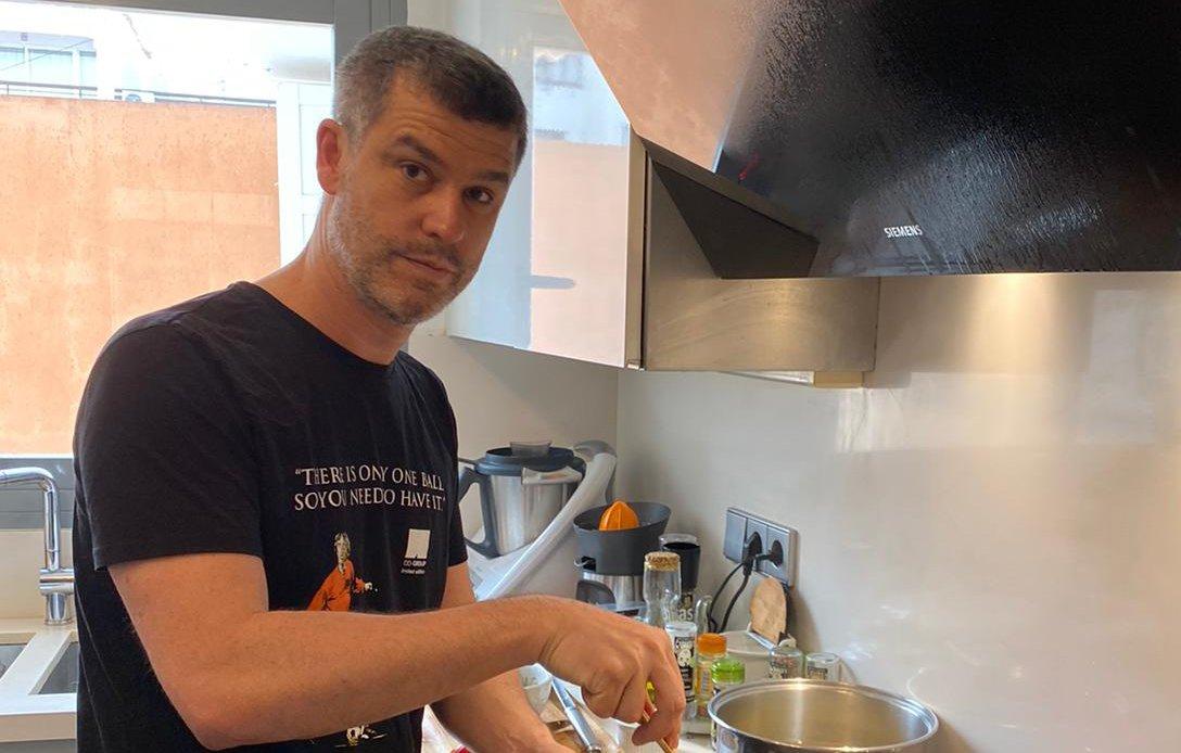 Marc Rahola receta fideuá
