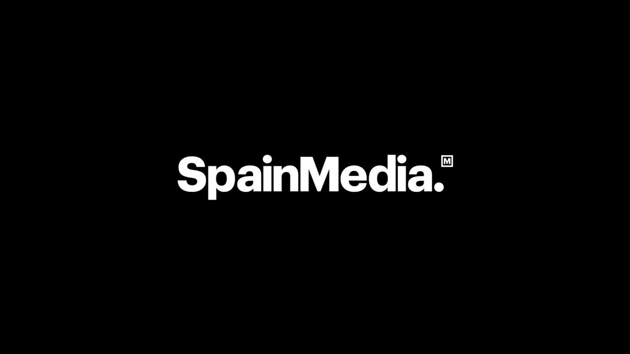 Logo SpainMedia negro