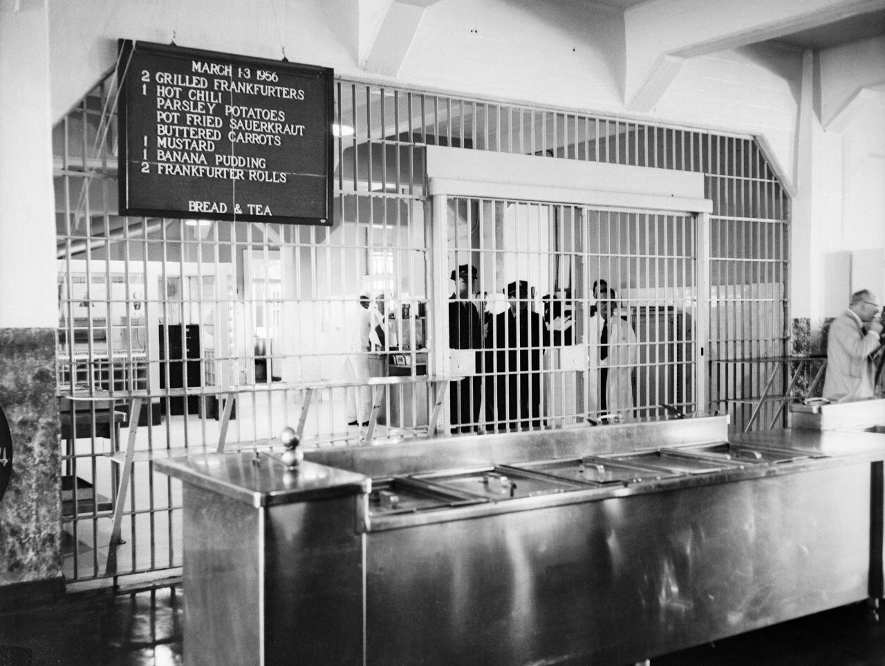 Cocina de la prisión de Alcatraz