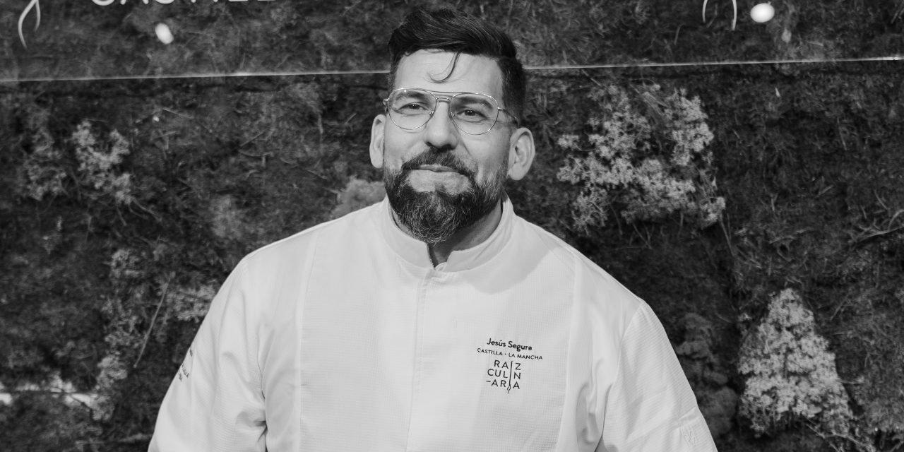 Retrato del chef Jesus Segura de Trivio, Cuenca
