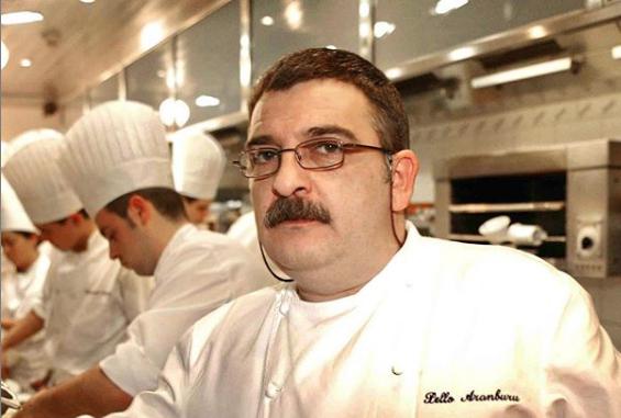 Muere Pello Aramburu, jefe de cocina de Arzak