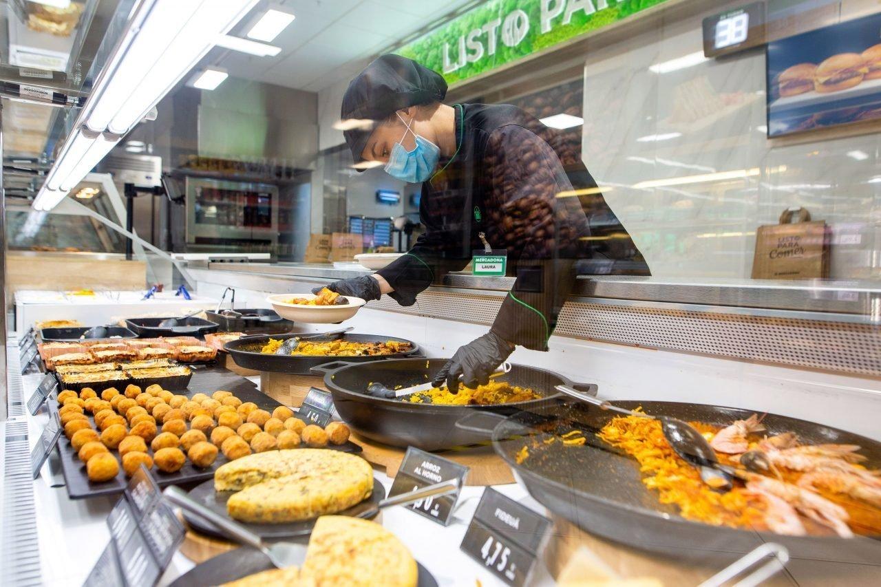 Sección Listo para Comer en Mercadona