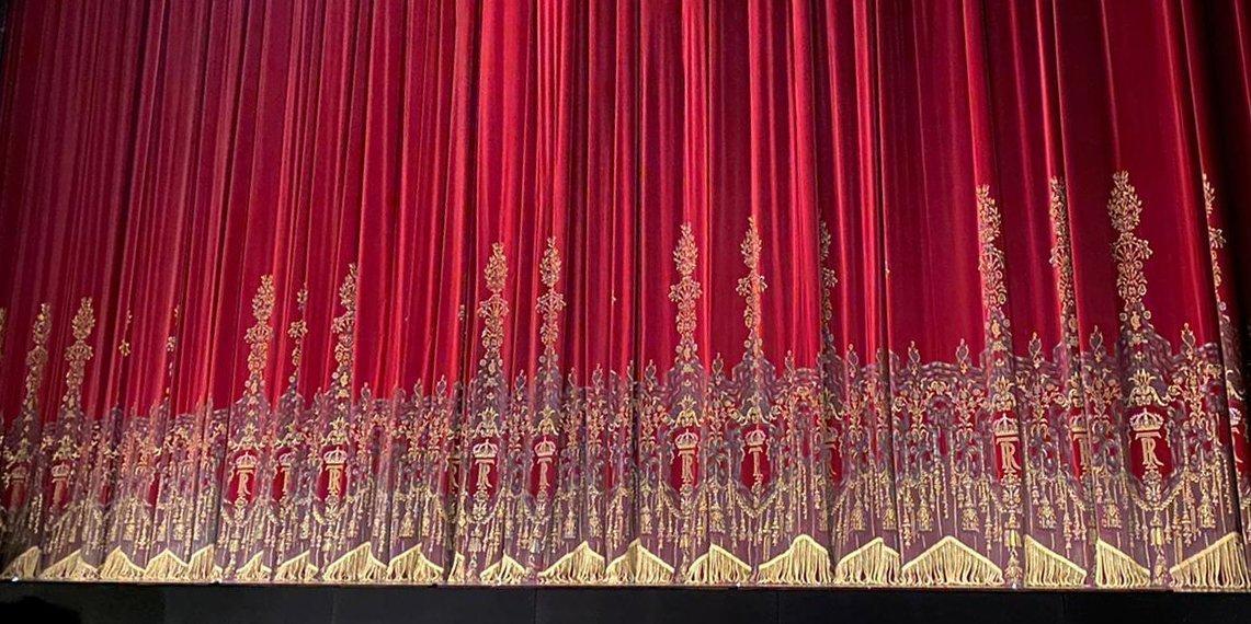 Teatro Real reapertura telón