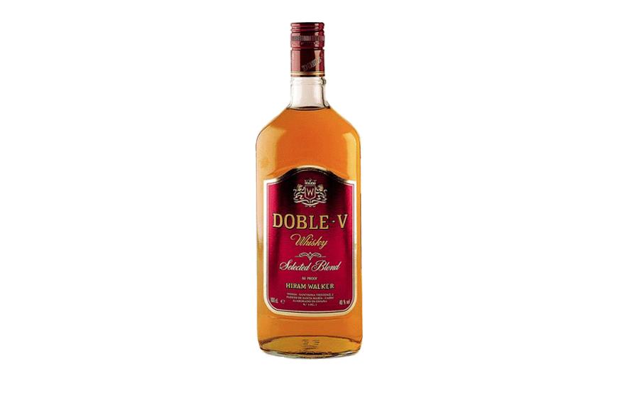 Botella de Doble V