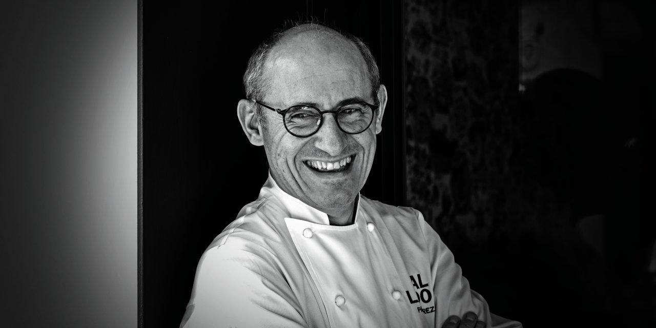 Retrato del chef Paco Pérez