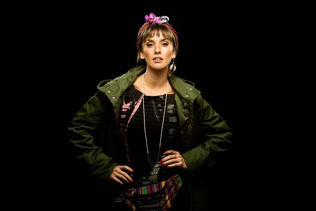 Marina San José en la obra de teatro Escape Room