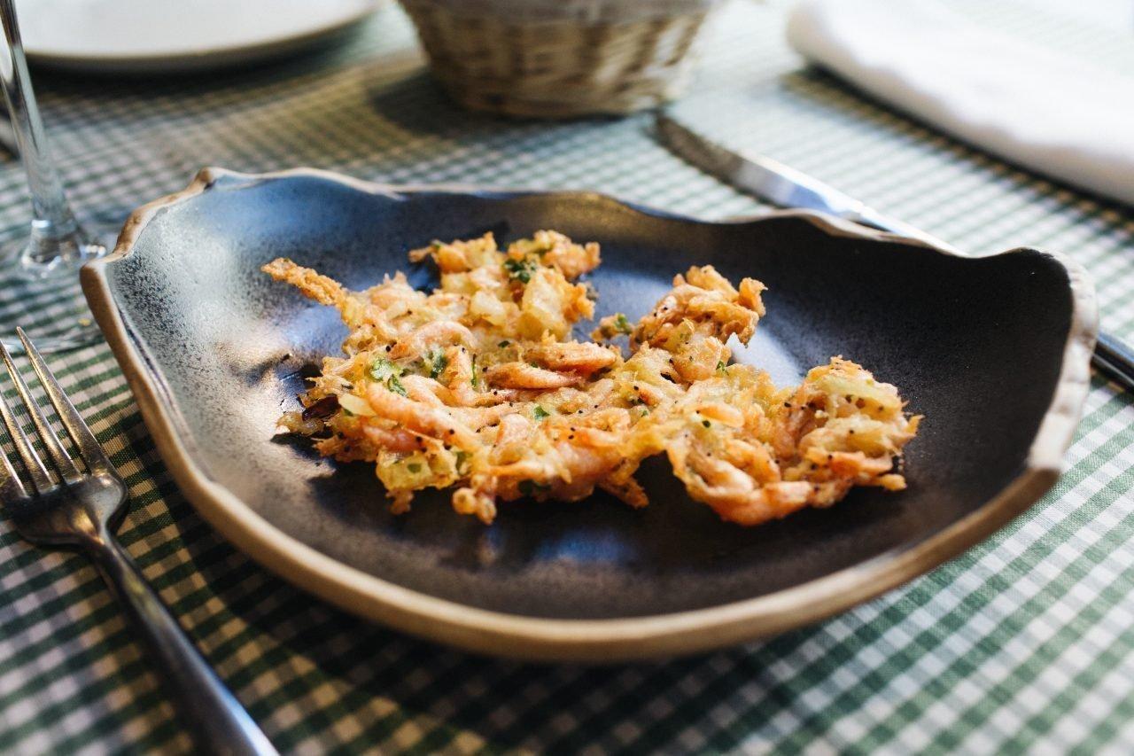 Triana - tortita de camarones