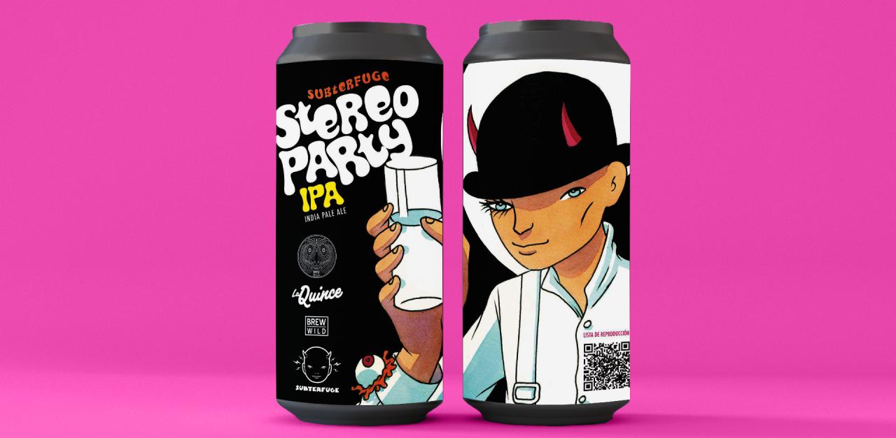Stereoparty música y cerveza