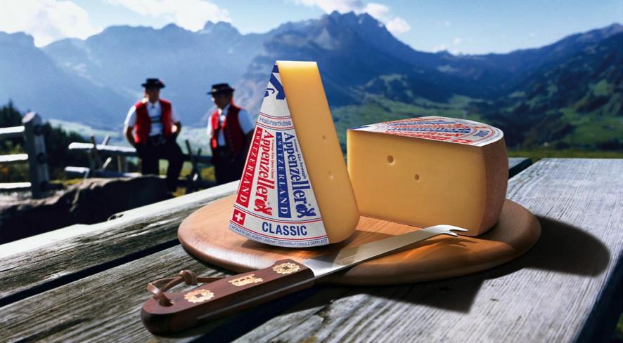 Appenzeller®, el queso aromático más especial de Suiza
