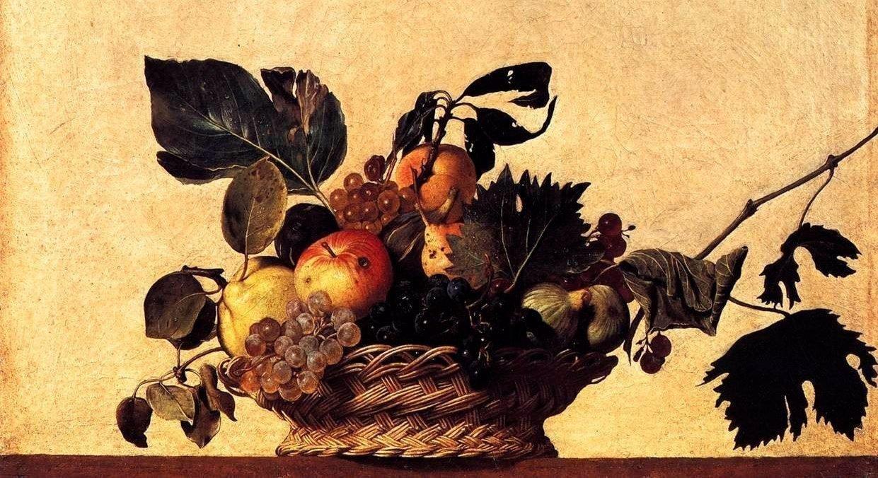 Cesta de fruta de Caravaggio
