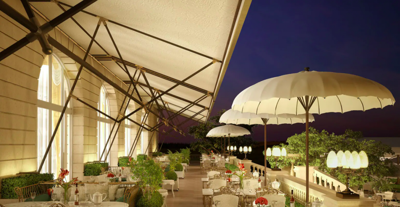 Restaurante Deessa, Mandarin Oriental Ritz, Madrid