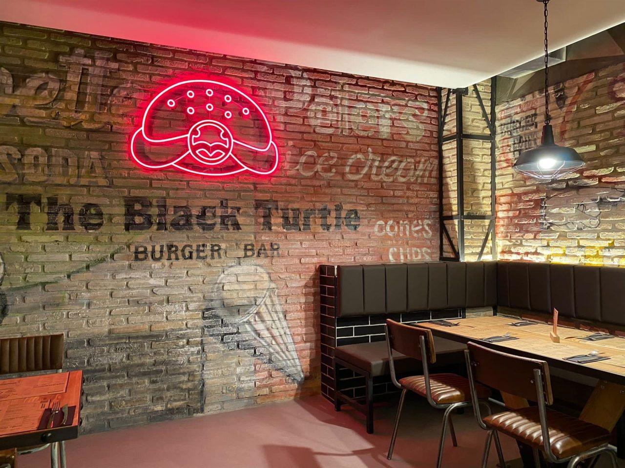 La cadena de hamburgueserías The Black Turtle llega a Madrid