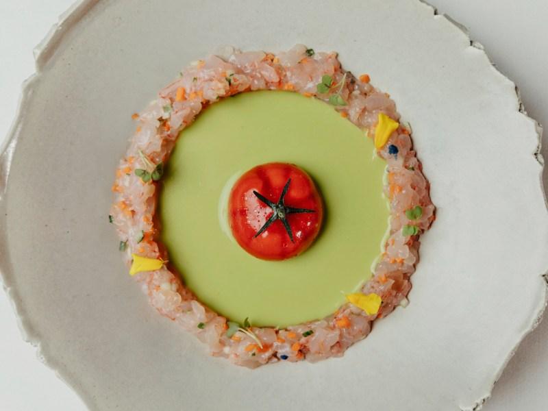 Tomate Nitro, en Dani Brasserie.