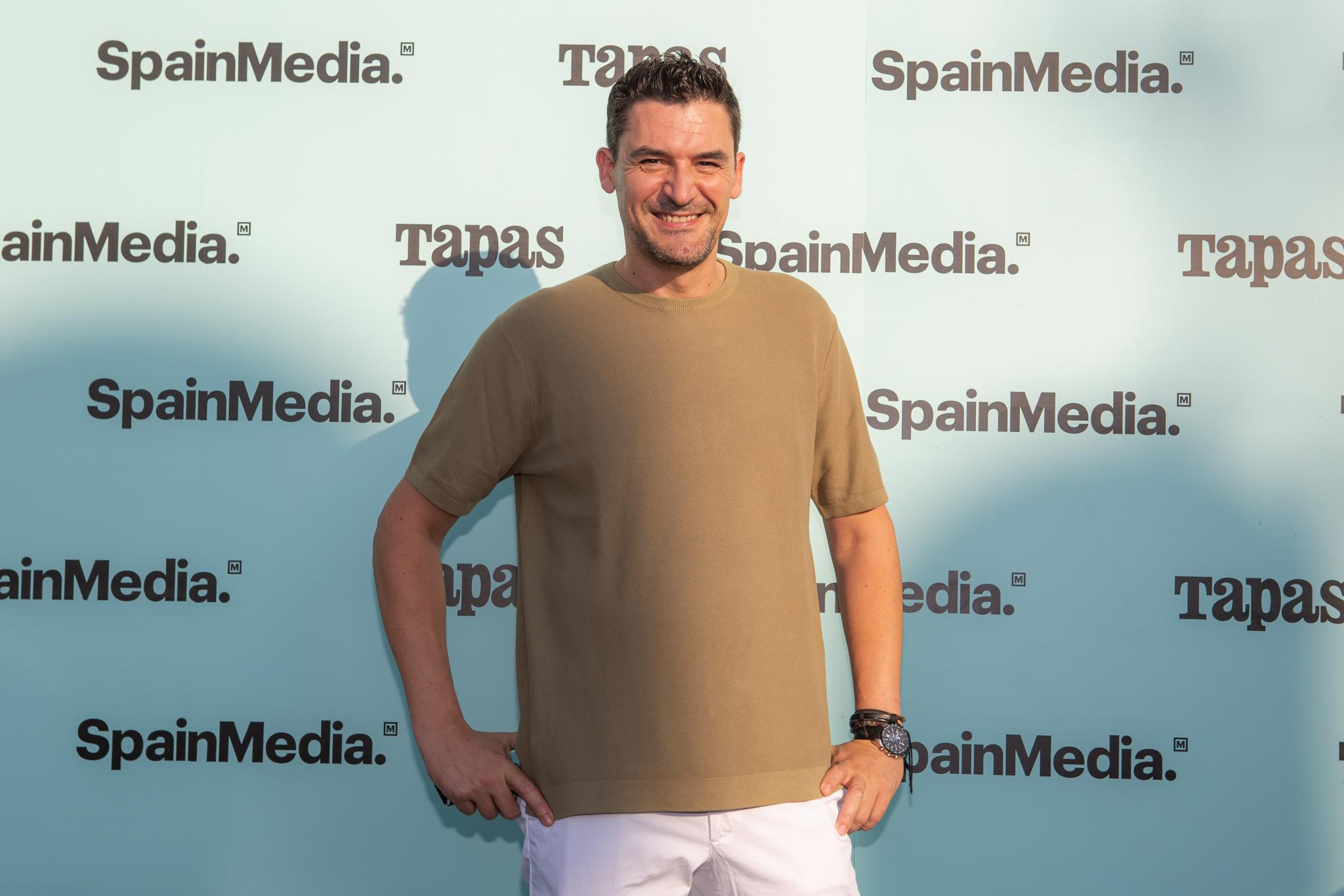 El chef Óscar Molina.