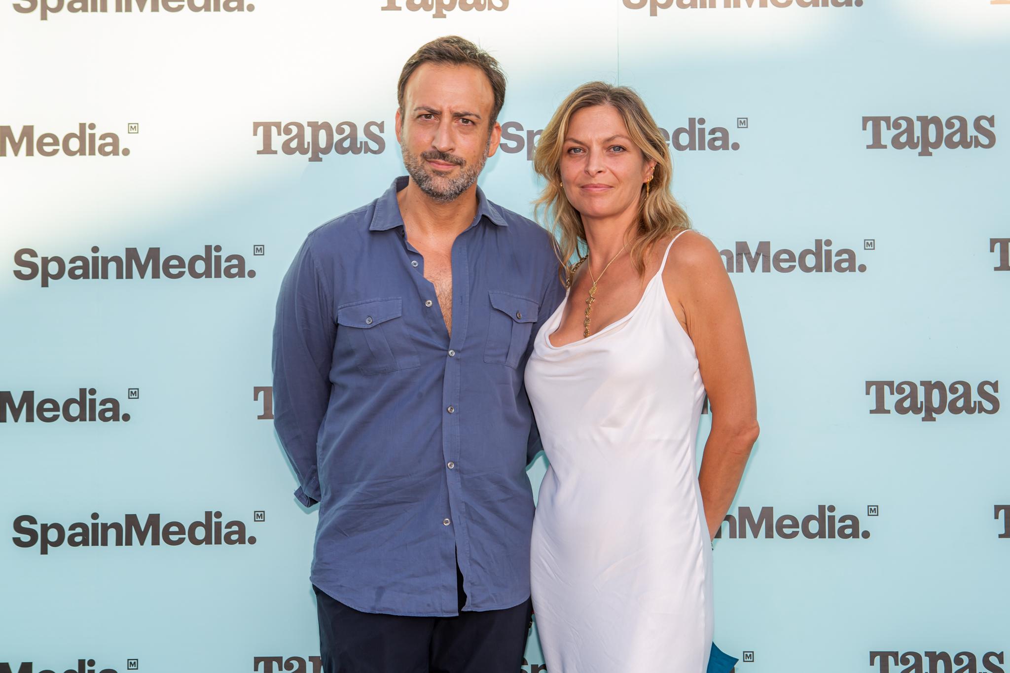 Guillermo Parra de la galeria Parra y Romero y Aline De Laforcade