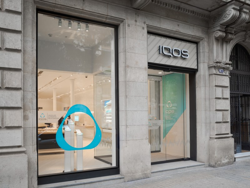 IQOS-Boutique